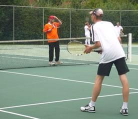 Tennis bij de Mepsche