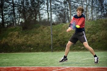 Doeko Berghuis, tennisleraar De Mepsche