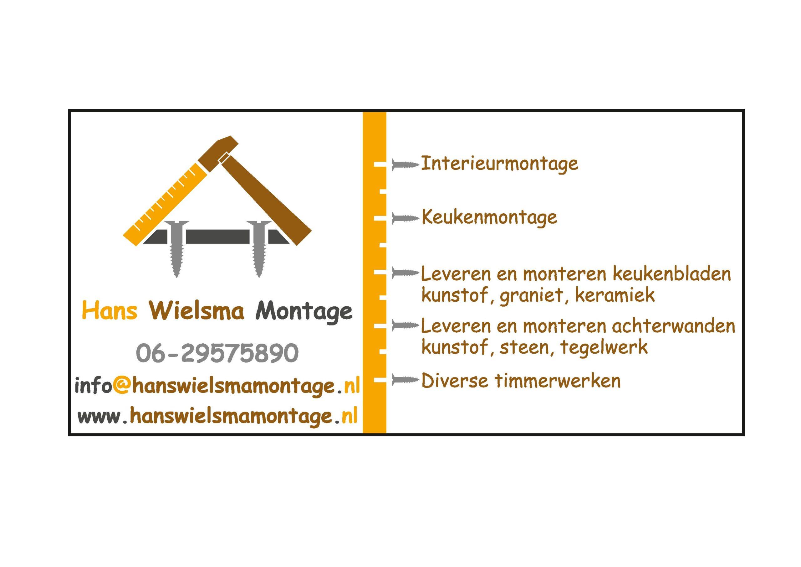 Hans Wielsma Montage logo