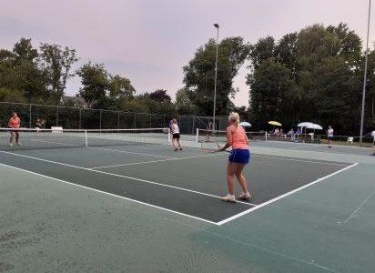 damesdubbel tennis