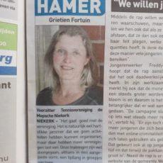 Interview Grietien Fortuin, Streekkrant 28 april
