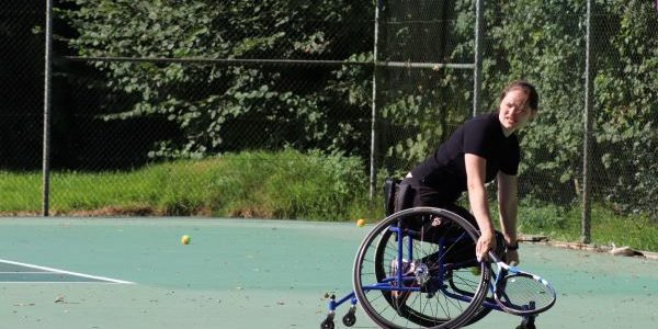 rolstoeltennis